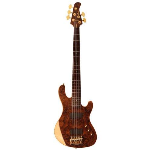 Бас-гитара Cort Rithimic V NAT Natural Glossy
