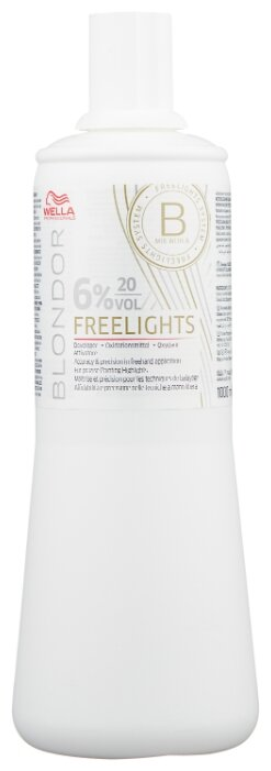 Wella Professionals Blondor окислитель Freelights, 6%