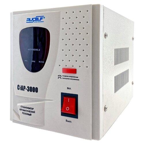 цена на Стабилизатор напряжения однофазный RUCELF СтАР-3000 (2 кВт) белый