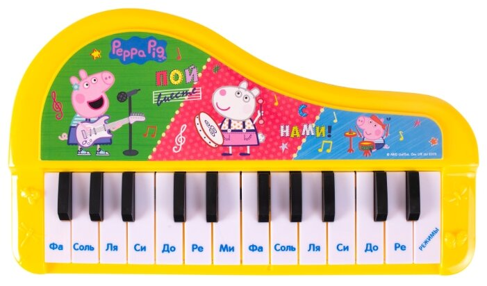 РОСМЭН пианино Свинка Пеппа 36359