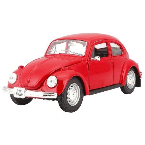 Купить Легковой автомобиль Maisto Volkswagen Beetle (31926) 1:24 красный, Машинки и техника