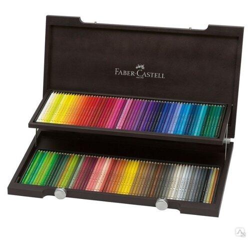 Faber-Castell Карандаши цветные Polychromos, 120 цветов (110013) faber castell цветные карандаши faber castell jumbo grip metallic 5 цветов