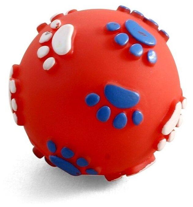 Мячик для собак Triol с лапками 12101097