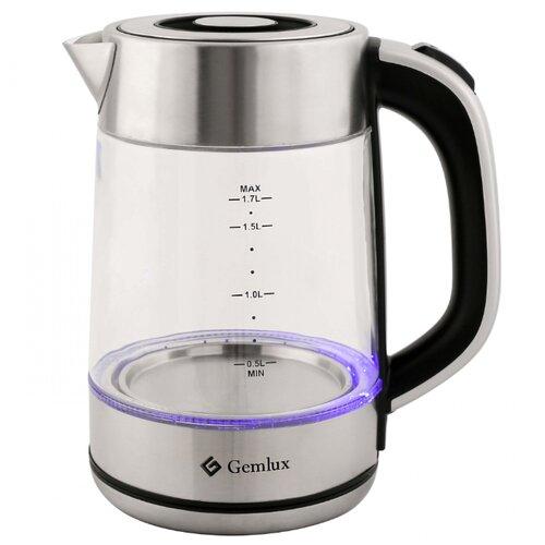 Чайник Gemlux GL-EK-891G, серебристый чайник электрический gemlux gl ek7720
