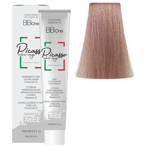 BB One Picasso Colour Range Перманентная крем-краска без аммиака, 100 мл, 10.8 блонд bb one picasso colour range перманентная крем краска без аммиака 100 мл 10 16 очень светлый блонд розовый жемчуг