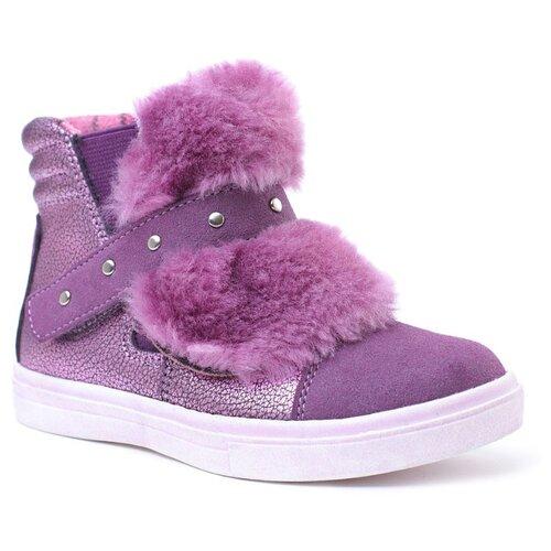 Ботинки playToday размер 30, сиреневый ботинки playtoday размер 30 сиреневый