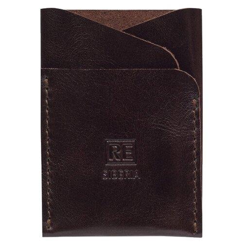 Кредитница Reconds Liberty, коричневый глянцевый кошелек reconds reconds mp002xu02f9z