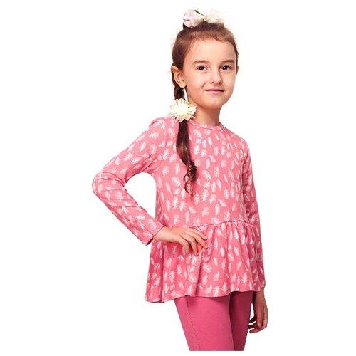 Купить Туника TREND размер 92-52(26), розовый/перья, Футболки и рубашки