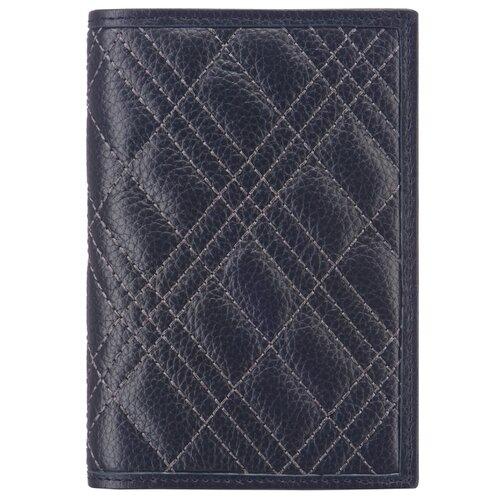 Обложка для паспорта Dr.Koffer X510130-224-60, синий
