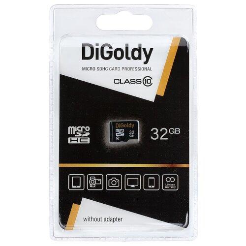 Фото - Карта памяти Digoldy microSDHC class 10 32GB карта памяти kingston microsdhc 32gb microsdxc class 10 sdcs2 32gb