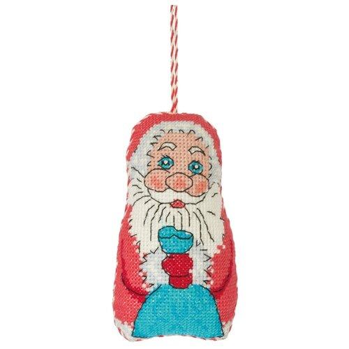 Купить PANNA Набор для вышивания Игрушка. Дед Мороз 7 х 11 см (IG-1429), Наборы для вышивания