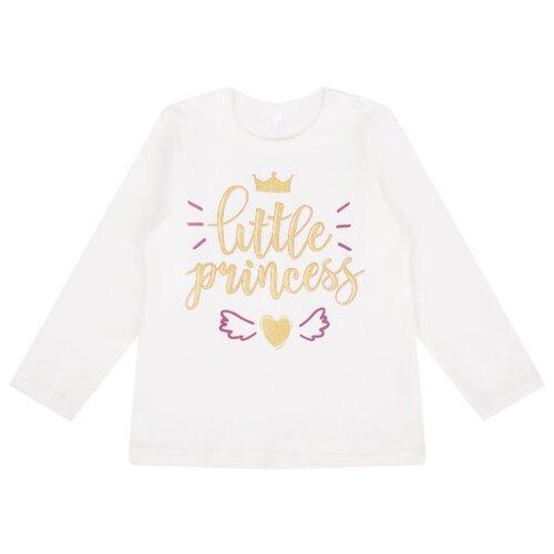 Купить Лонгслив Leader Kids размер 86, молочный, Футболки и рубашки