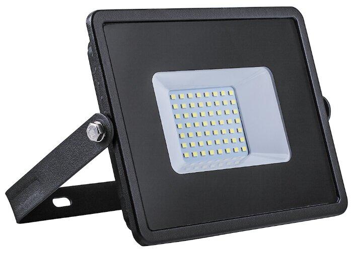 Прожектор светодиодный 50 Вт Feron LL-921 6400K (черный)