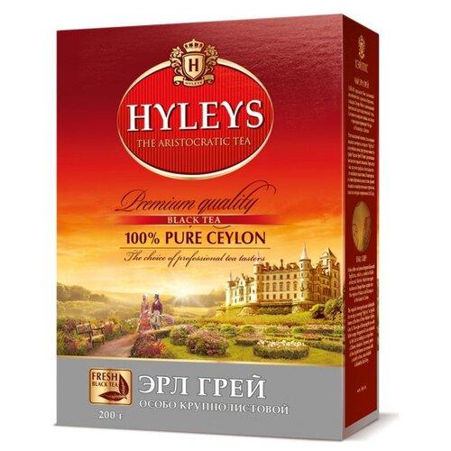 Чай черный Hyleys Эрл грей, 200 г чай черный alma home эрл грей organic 27 9 г
