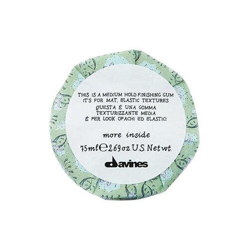 Davines Эластик-гель для матовых подвижных текстур More Inside Medium Hold Finishing Gum, 75 мл