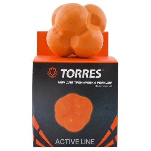 Тренажер для улучшения скорости реакции TORRES Reaction ball оранжевый