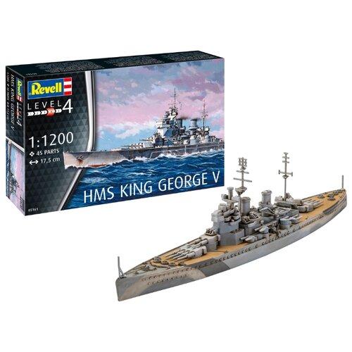 Купить Сборная модель Revell HMS King George V (05161) 1:1200, Сборные модели