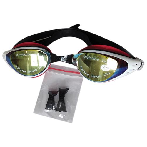 Очки для плавания Wave с диоптриями -4.0 очки для плавания mad wave spurt rainbow azure white