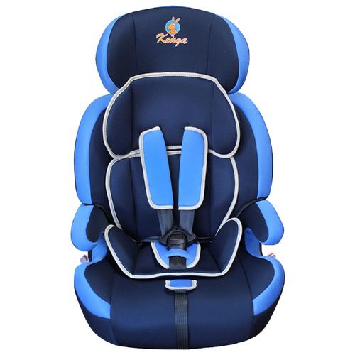 автокресло actrum lb 303 0 18 цвет blue velure синий велюр Автокресло группа 1/2/3 (9-36 кг) Kenga LB-515 SZF-Lux, синий