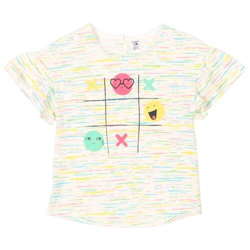 Футболка crockid размер 116, цветной меланж на сахаре сорочка crockid размер 116 лесная земляника на сахаре