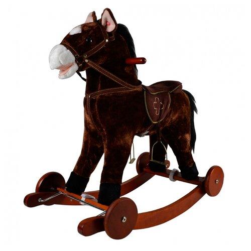 Купить Каталка-качалка Pituso Лошадка GS2023W коричневый, Каталки и качалки