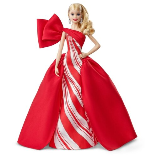 Кукла Barbie Праздничная 2019 Блондинка, FXF01