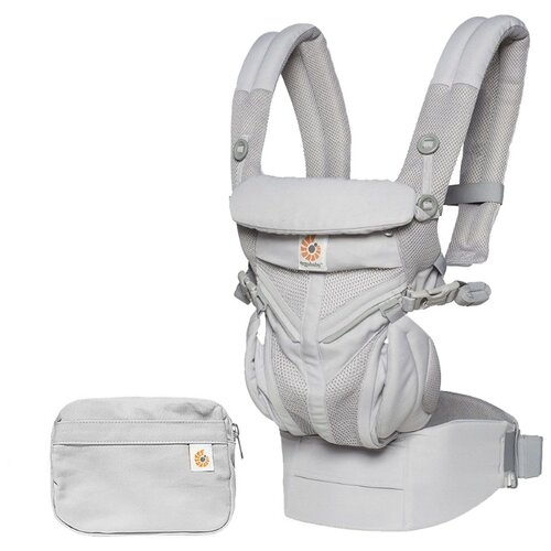 Эргорюкзак Ergobaby OMNI 360 Cool Air Mesh pearl grey
