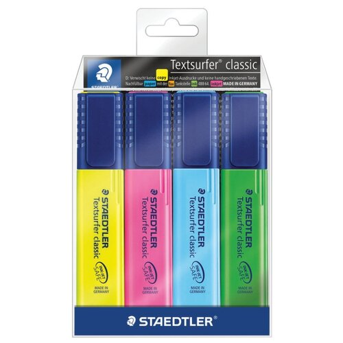Staedtler Набор маркеров Textsurfer Classic, 4 шт (364 WP4)