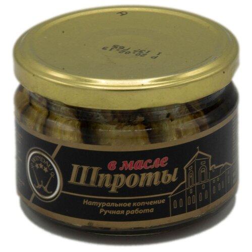 WINDAU Шпроты в масле, 250 г дар гор сыр брынза с чёрными и зелёными плодами оливы в масле 40% 250 г