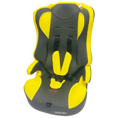Автокресло группа 1/2/3 (9-36 кг) Мишутка LB 513 RF (без вкладыша), yellow/black dot группа 1 2 3 от 9 до 36 кг мишутка lb513rf