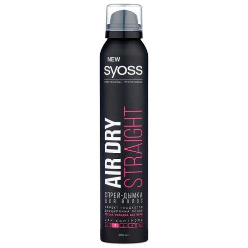 цена на Syoss Спрей для укладки волос Air dry Straight, слабая фиксация, 200 мл