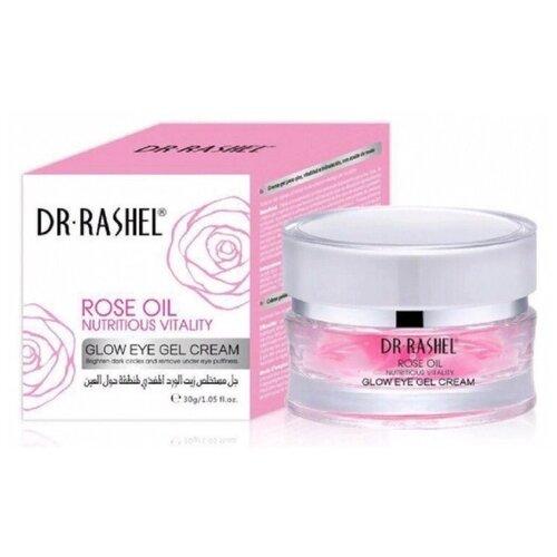 Dr. Rashel Крем-гель для кожи вокруг глаз с маслом розы Rose Oil Glow Eye Gel Cream 30 г