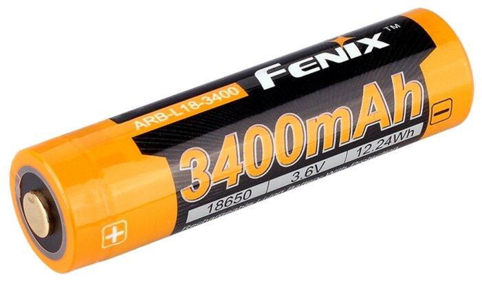 Аккумулятор Li-Ion 3400 мА·ч Fenix 18650 ARB-L18-3400