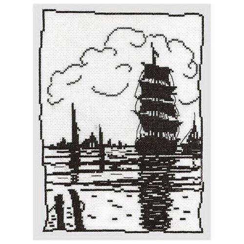 Купить PANNA Набор для вышивания Парусник 19 х 25 см (КР-0451), Наборы для вышивания