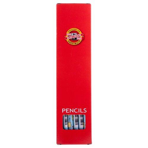 Купить KOH-I-NOOR Набор чернографитных карандашей Formulas 1231 12 шт (V1231002478KSNV), Карандаши