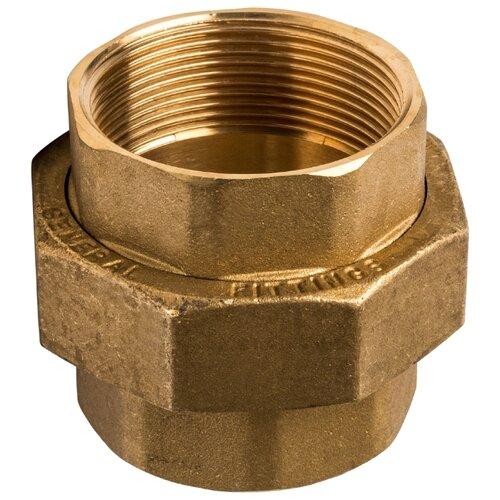 Фитинг резьба разъёмное соединение (американка) STOUT SFT-0033-000002 2x2 1 шт. угольник stout вв 2 sft 0013 000002