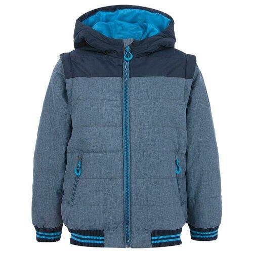 верхняя одежда acoola куртка детская для девочек цвет темно синий размер 98 20220130132 Куртка Acoola 20110130158 размер 146, Темно-голубой