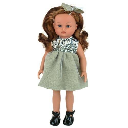 Кукла Lamagik Нэни рыжие волосы в сером платье, 33 см, 33001