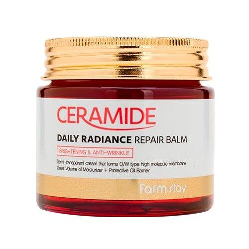 Купить Farmstay Ceramide Daily Radiance Repair Balm Укрепляющий крем-бальзам для лица c керамидами, 80 мл