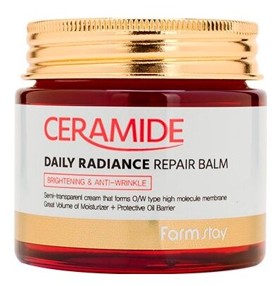 Farmstay Ceramide Daily Radiance Repair Balm Укрепляющий