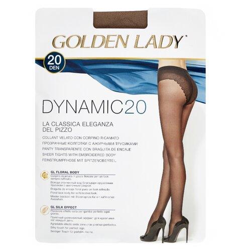 Колготки Golden Lady Dynamic 20 den, размер 4-L, daino (бежевый) колготки golden lady leda 20 den размер 4 l daino бежевый