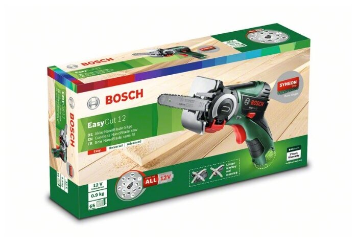 Электролобзик BOSCH EasyCut 12 0 коробка