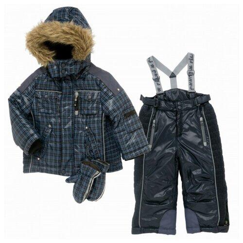 Комплект с брюками Chicco WM 72220.85 размер 98, темно-синий шапка chicco размер 006 темно синий