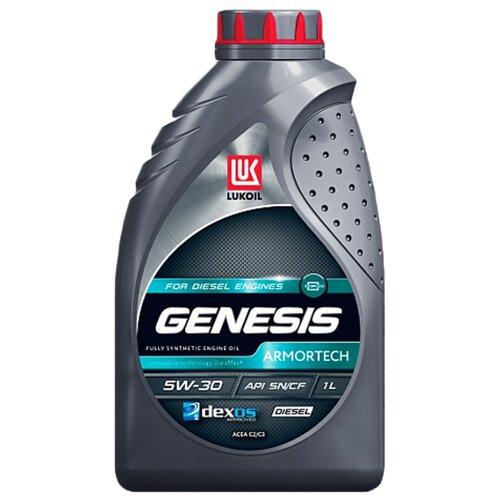 Моторное масло ЛУКОЙЛ Genesis Armortech Diesel 5W-30 1 л моторное масло лукойл genesis armortech fd 5w 30 4 л