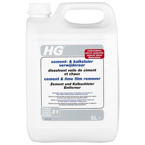 цена на HG Средство для удаления цемента и извести с мрамора и натурального камня 5 л