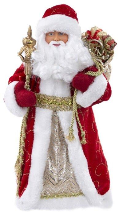 Фигурка праздничная Magic Time Дед Мороз в красном костюме, 80153, красный, 15,5 х 8,5 х 30,5 см
