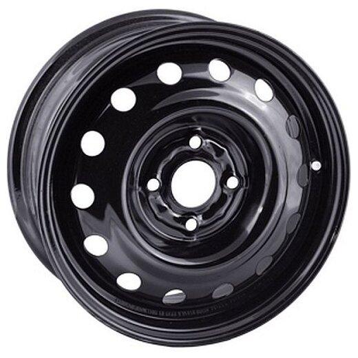 Диск колёсный стальной штампованный посадка 6x139.7 размер 8х17 вылет ET -25 центральное отверстие D 110 цвет: черный