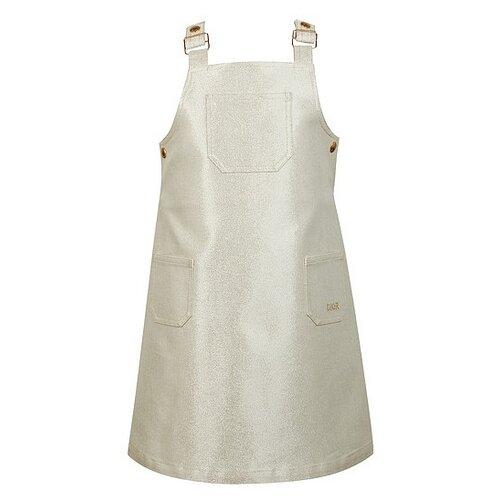 Сарафан Christian Dior размер 116, кремовый