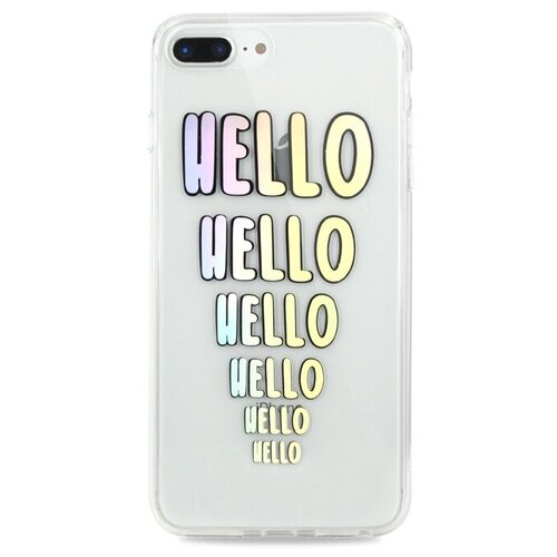 Чехол Pastila Charm для Apple iPhone 6 Plus/iPhone 7 Plus/iPhone 8 Plus hello чехол pastila charm для apple iphone 6 plus iphone 7 plus iphone 8 plus бэби