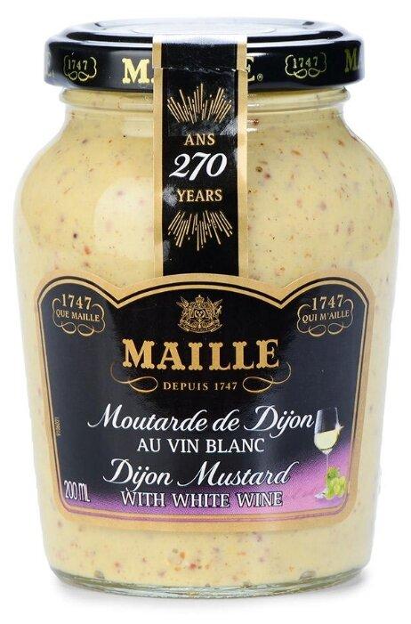 Горчица Maille дижонская с белым вином, 200 мл